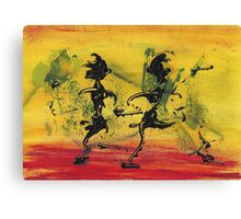 Dance Art Dancing Couple VIII   Canvas Print