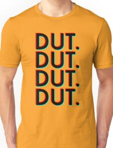Dut. x4 (black background) Unisex T-Shirt