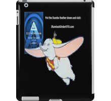 Illuminatiam sci fi book dumbo feather dupes shirt iPad Case/Skin