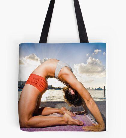 Kapotasana - Arms Straight Tote Bag