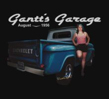 Gantt's Garage T-Shirt from VivaChas! by ChasSinklier