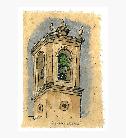 Torre dea Igreja de S.Martinho Photographic Print