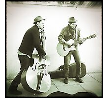 buskers Photographic Print