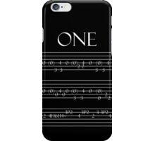 One tab iPhone Case/Skin