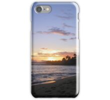 Sunset Over the Water iPhone Case/Skin