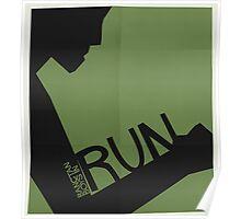 HYYH pt.2 x Saul Bass - Run Poster