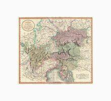 Vintage Map of Austria (1801) Unisex T-Shirt