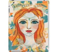 Faith, Light, Love iPad Case/Skin