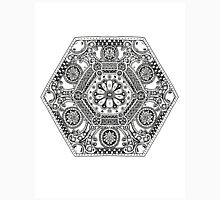 Mandala Design with Flower Unisex T-Shirt