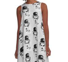 Charlie Chaplin A-Line Dress