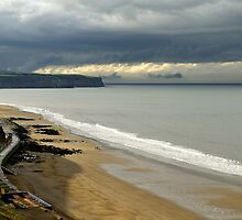 The North Yorkshire Coast, After A Storm by Rod Johnson