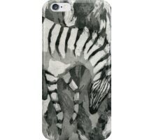 Zebra Apologia iPhone Case/Skin
