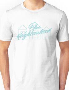Blue Neighbourhood Houses Unisex T-Shirt