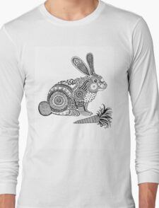 Rabbit with Carrot Long Sleeve T-Shirt