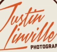 Justin Linville Photography Logo Sticker