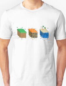 Pixel Block Environments Unisex T-Shirt
