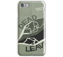 HYYH pt.2 x Saul Bass - Dead Leaves iPhone Case/Skin
