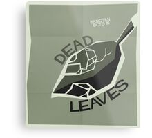 HYYH pt.2 x Saul Bass - Dead Leaves Metal Print