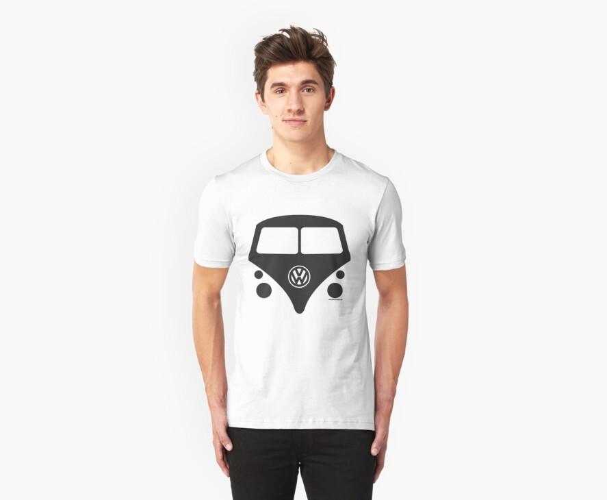 VW BUS die cut #0001 by Tony  Bazidlo