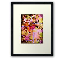 FRIENDSHIP FROM SUN UP TO SUN DOWN Framed Print