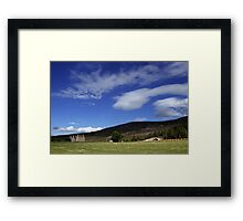 Gairnshiel Lodge, Aberdeenshire, Scotland Framed Print