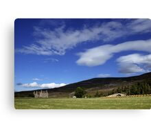 Gairnshiel Lodge, Aberdeenshire, Scotland Canvas Print