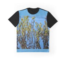 Bearberry and Its Reflection in a Beach Swale Graphic T-Shirt