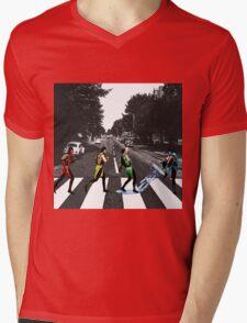 BEATLE KOMBAT Mens V-Neck T-Shirt