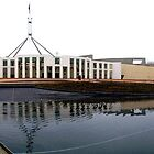 Parliament House, Canberra by GeorgeOne