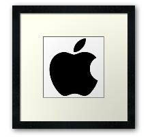 Apple Logo Framed Print