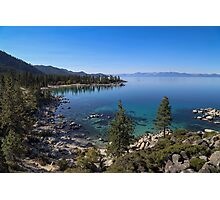 Sand Harbor - Lake Tahoe Photographic Print