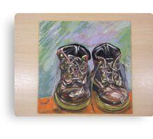 Dr Martin Boots Canvas Print