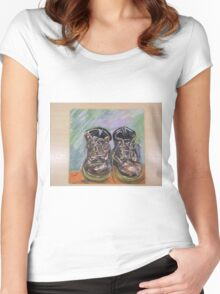 Dr Martin Boots Women's Fitted Scoop T-Shirt
