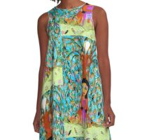 Weeping Willow A-Line Dress