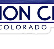 Canon City Colorado wood mountains Sticker