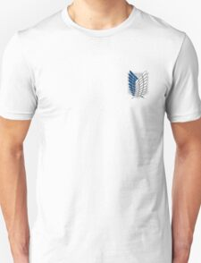 Survey Corps Coat of Arms - Attack on Titan Unisex T-Shirt