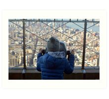 View of Manhattan  Art Print