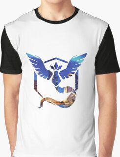 Pokemon Go Mystic Team City Lights Graphic T-Shirt