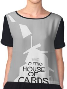 HYYH pt.2 x Saul Bass - Outro: House of Cards Chiffon Top