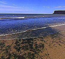 Fine Day for the North East Coast of England by Ian Alex Blease