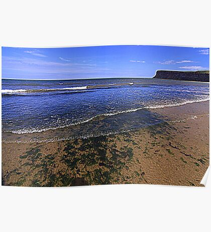 Fine Day for the North East Coast of England Poster