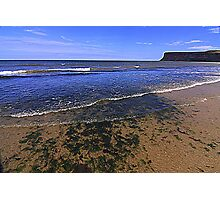 Fine Day for the North East Coast of England Photographic Print