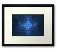 Pearls and Swirls Framed Print