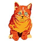 RED KITTEN by popdesign