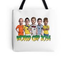 World Cup footballers Tote Bag