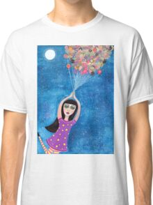 Missy and the Moon Balloons Classic T-Shirt