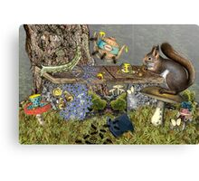 Insect Tea Party Canvas Print