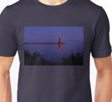 Lighthouse at Dusk Unisex T-Shirt