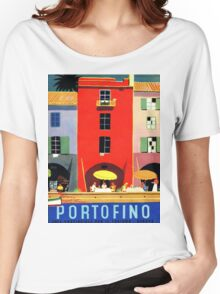Vintage poster - Portofino Women's Relaxed Fit T-Shirt