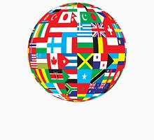 Flags Of The World Globe Unisex T-Shirt